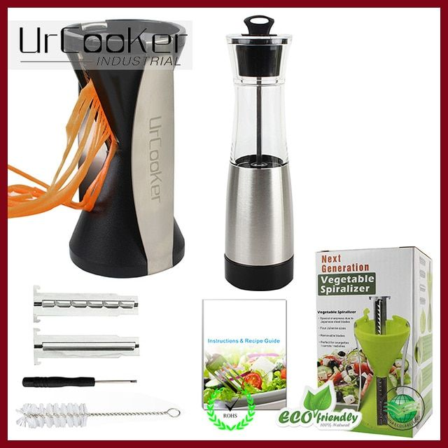 Hot sell vegetable spiral slicer slicer vegetable pineapple slicers & High quality electric pepper grinder