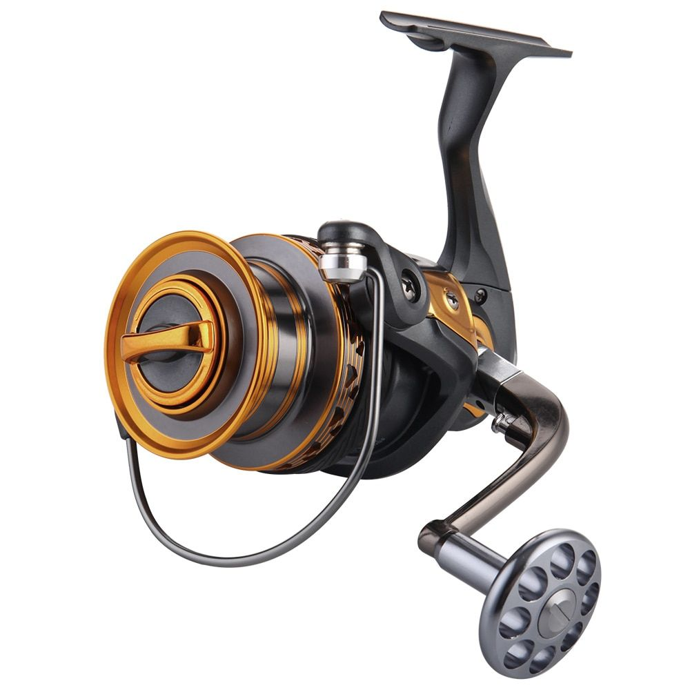 FDDL Aluminum  Spool Spinning Reel 4000-7000 Series 13+1BB Ball Bearings Long Distance Surfcasting Reel Fishing Reel