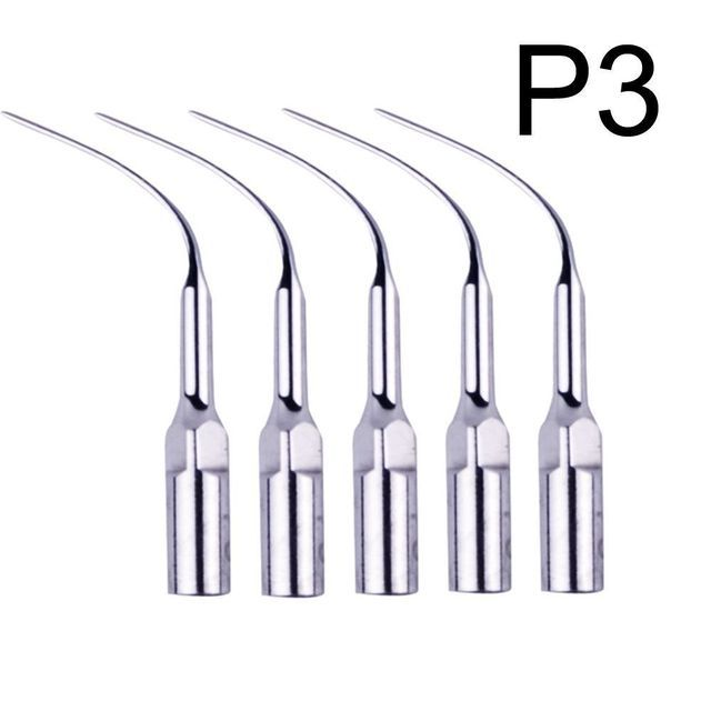 5X Dental Perio Scaling Tips P3 for EMS Woodpecker Piezo Scaler Handpiece SALE