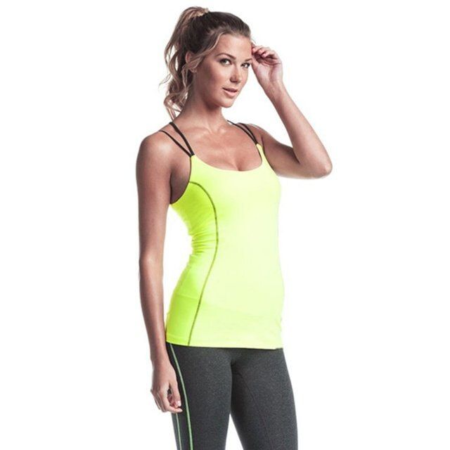 2017 New Summer Sexy Women Tank Tops Quick Dry Stretch Loose Fitness Sleeveless Vest