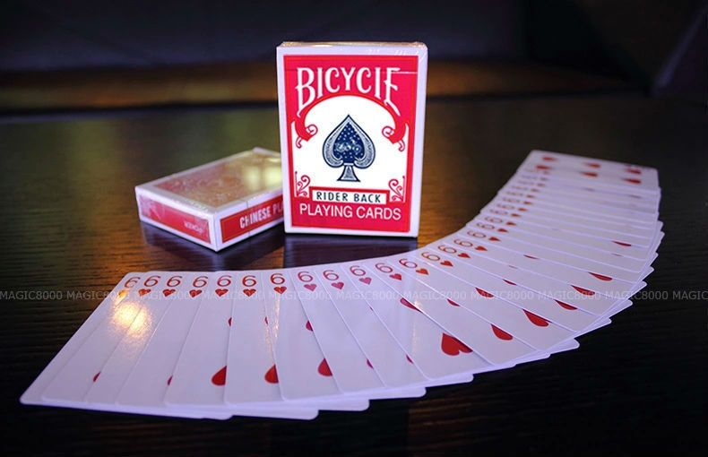 Svengali Deck atom playing card - magic prop,Magic Accessories,Mentalism,Satge Magic props,magic tricks,gimmick
