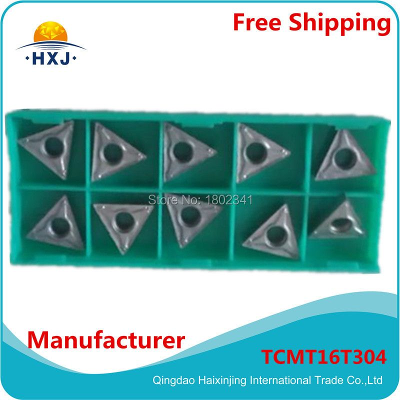 (10PCS/box)CNC Tool Shop factory outlets turning inserts for lathe turning operations TCMT16T304