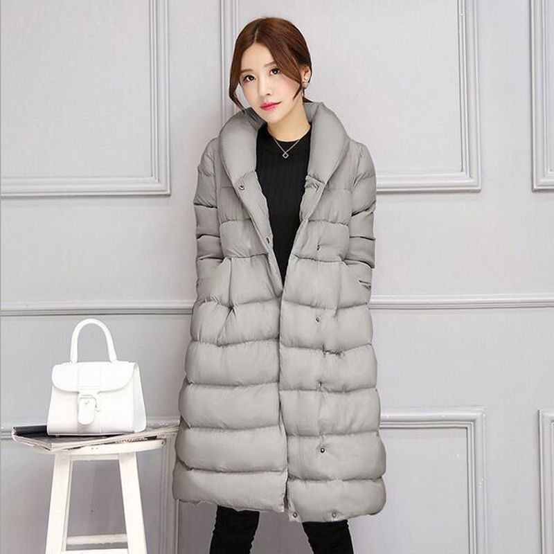 High Quality Winter Coat Women 2018 New Fashion Cotton Down Jacket Big Plus Size Korea Female Outwear Thick Warm Down Parka