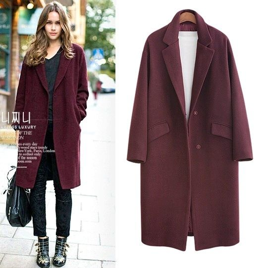 2018 Autumn Winter Fashion Women Wool Coat Loose Imitation Cashmere Outerwear Padded Lining Overcoat xs-5xl