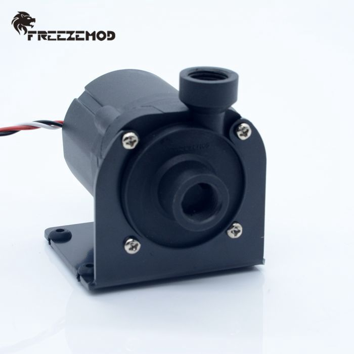 FREEZEMOD computer water cooling brushless DC water pump with speed line damping ceramic shaft core. PU-SC600