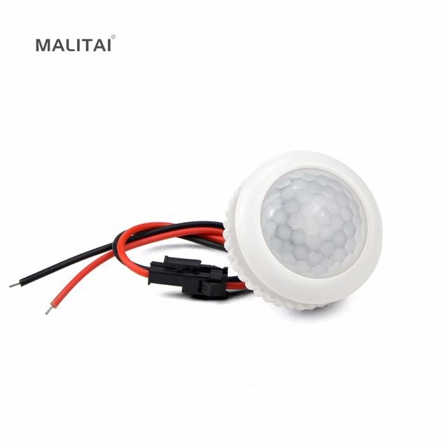 220V PIR Motion Sensor Switch ON / OFF IR Infrared Human body Indction Sensor light Control Detector Module For LED lamp or Fan