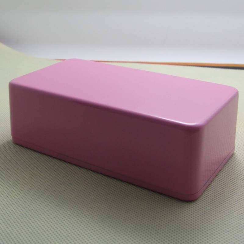 1590N1 Type Aluminum Metal guitar pedal stomp box pink, 120 (L) x66 (W) x39(H) mm (free shiping)