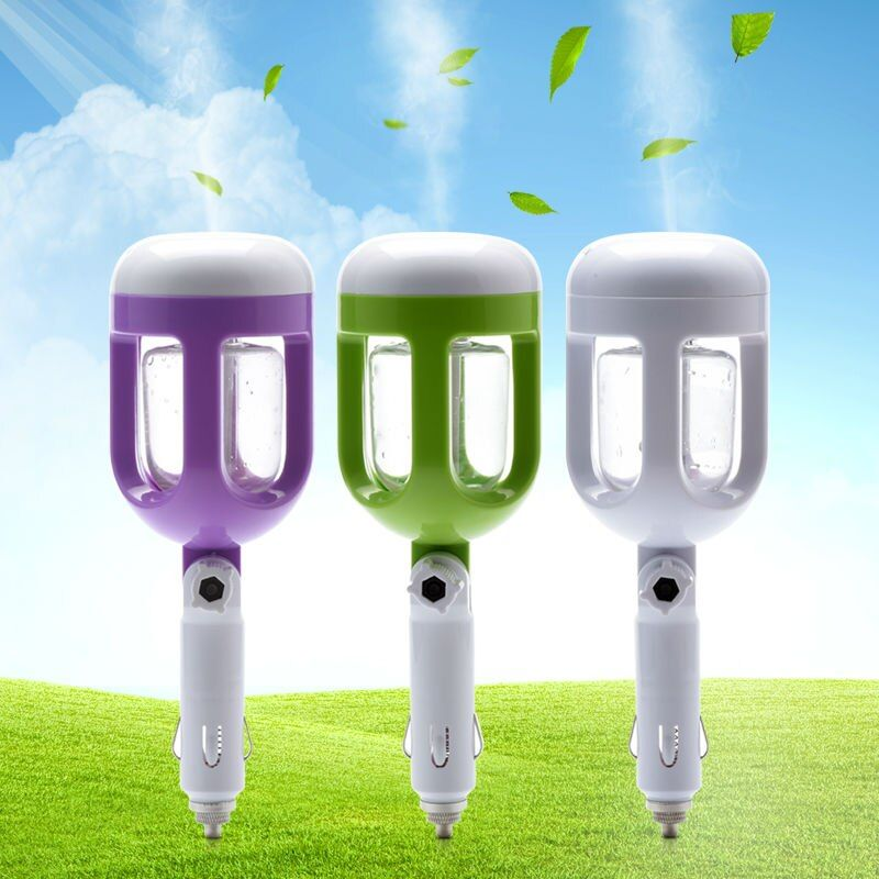 Mini Car Ultrasonic Humidifier Essential Oil Diffuser Aroma Ultrasonic Mist Maker Fogger Aromatherapy Humidificador
