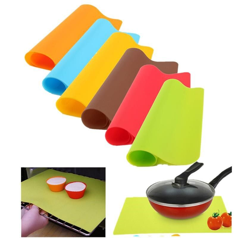 OnnPnnQ Silicone Mat Bakeware Pad Baking Silicone Oven Nonstick Thick Heat Insulation Pad Kitchen Accessories