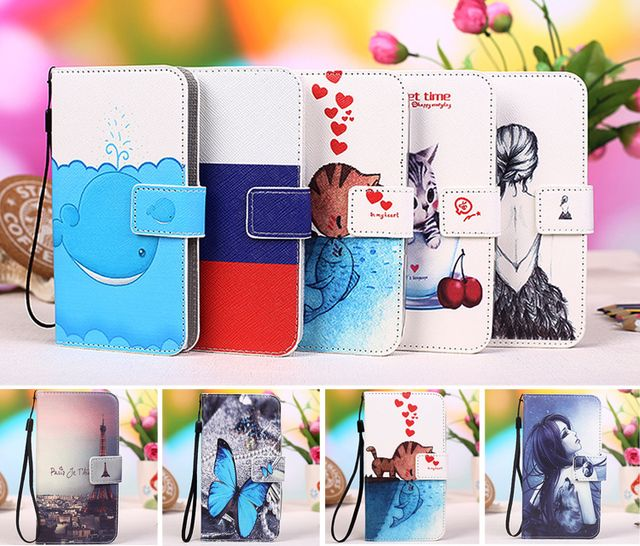 "AllView V1 Viper L Case,Multi colors Flip PU Leather Phone Wallet Cases For AllView V1 Viper L 5"" Mobile Phone cover +Tracking"
