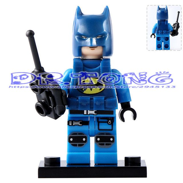 DR.TONG 20pcs/lot PG182 Police Batman with Cellphone DC Super Heroes Batman Movies Building Blocks Diy Toys Child Gifts PG8047