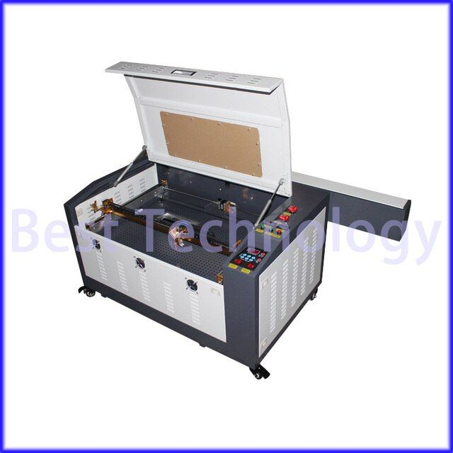 New 110/ 220V 60W 400*600mm CNC Laser Engraver 6040 Cutting Machine 4060 USB port used for Wood,Acrylic, Crytal, Glass, Leather