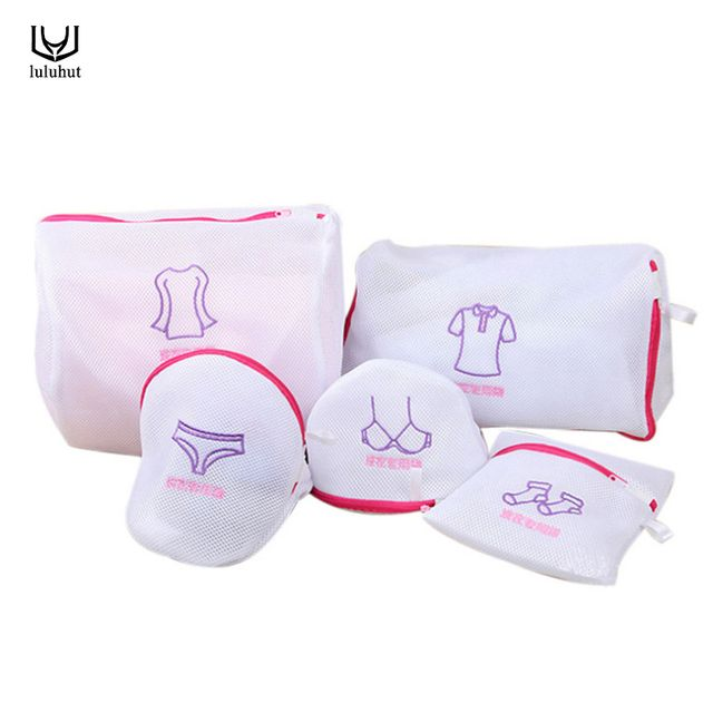 luluhut laundry washing bag portable bra underwear sock shirt clothing wash protecting mesh bag thicken washing machine net bag
