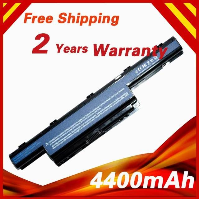 4400mAh Battery For Acer Aspire 5740 5744 6495  7340 7740 7551 7741  7560 7750 TravelMate 8572 8573 AS10D61 AS10D71 AS10D41