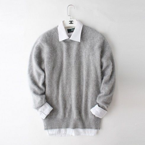 New real mink cashmere sweater men pure 100% cashmere sweater pullovers men free shipping Wholesale price S275