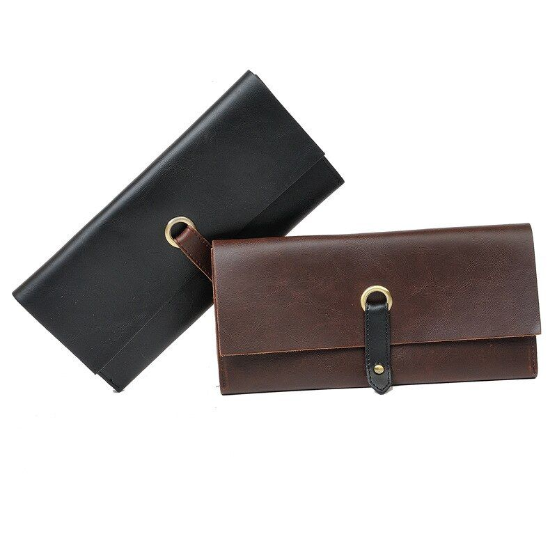 Z94 2016 New PU Leather Wallet Men Standard Wallets With Card Holder Coin Pocket Crazy Horse Wallet High Quality Clutch Purse