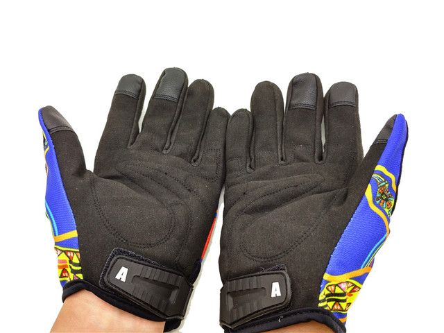 Popular GP PRO Motorcycle Gloves MotoGP Top Leather Moto Road Racing Gloves Motorbike Protective Gear