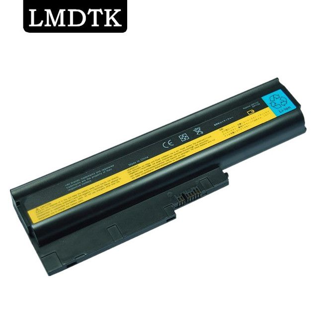 LMDTK NEW 6CELLS LAPTOP BATTERY  FRU 42T4502  42T4504  42T4511  42T4513  42T4619  42T4651 42T5233 92P1127 FIT FOR LENOVO T61