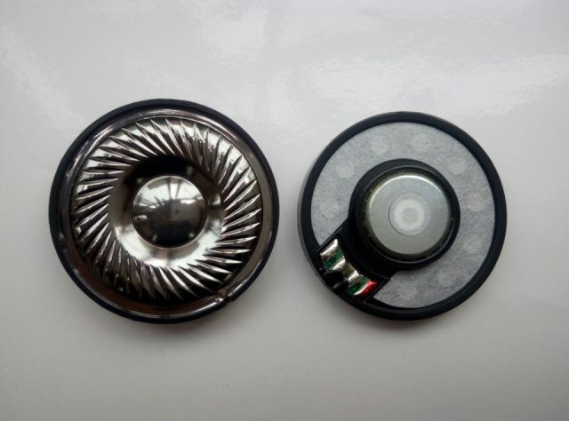 50mm speaker unit HIFI High Resolution Titanium film 1pair=2pcs