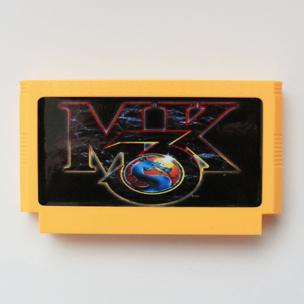 Mortal Kombat 3 60 Pins Game Card For 8 Bit D99 Game Player