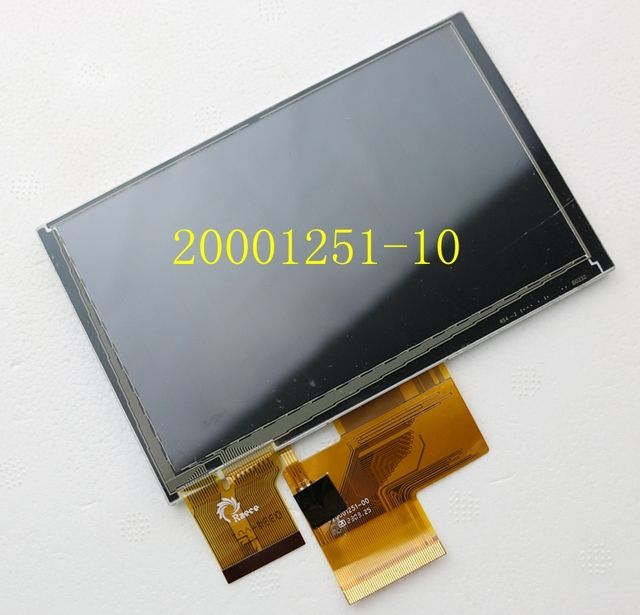 5 inch HE050NA-01F GPS journey T5/ZT550 LCD screen 20001251-10 50pin
