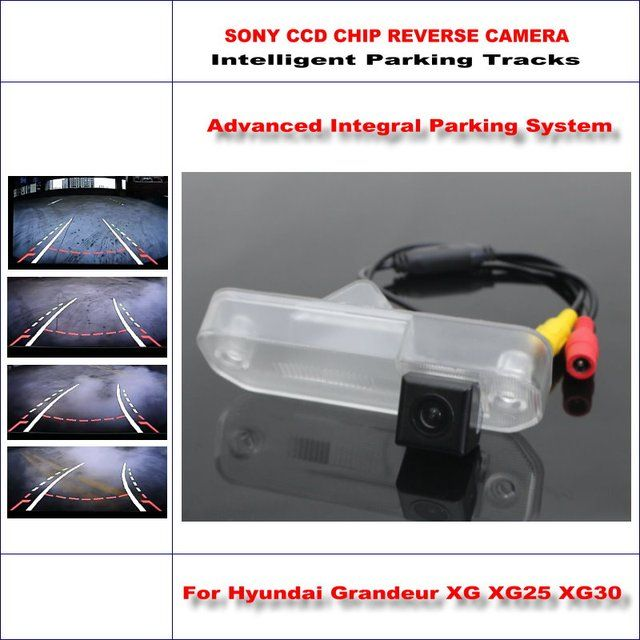 Dynamic Guidance Rear Camera For Hyundai Grandeur XG XG25 XG30 XG300 / 580 TV Lines HD 860 Pixels Parking Intelligentized