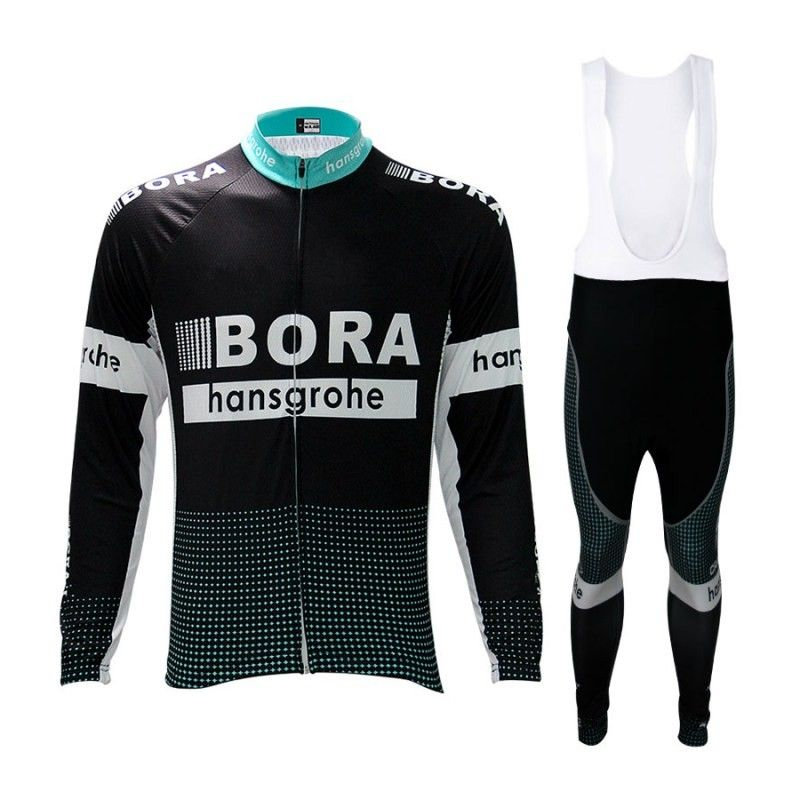 2017 winter thermal fleece pro team bora cycling long sleeve jersey Ropa Ciclismo warmer MTB quick-dry bike cloth