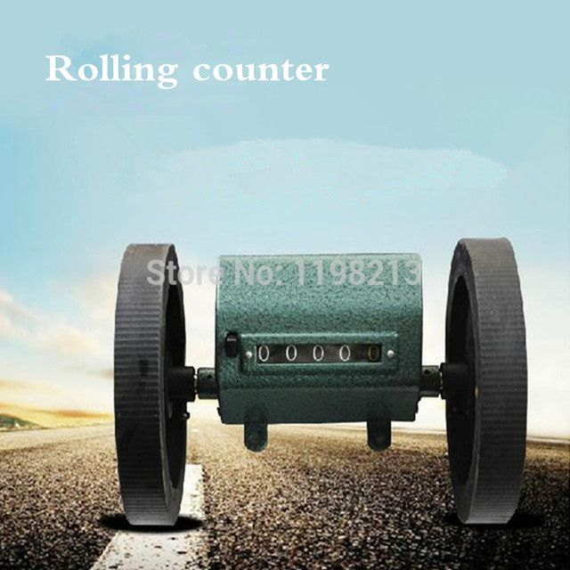 Rolling Wheel Counter Meter Counter Length Measure Mechanic Counter Textile Machinery Meters Decoder