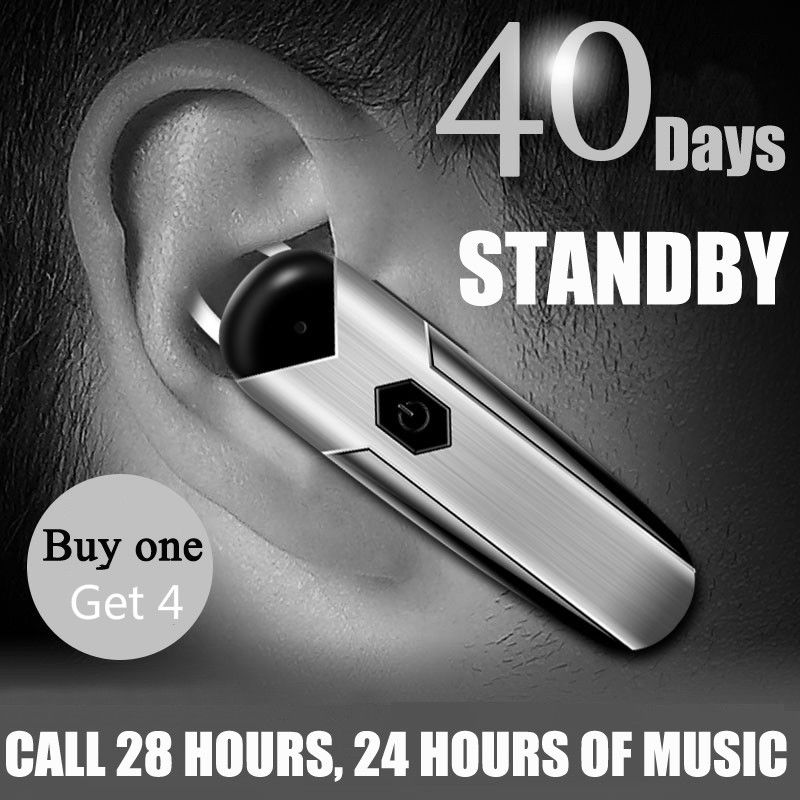 Wireless Bluetooth Earphone Hands-free CSR 4.1 Bluetooth Headset with Noise Cancelling MIC for IPhone Samsung Xiaomi Smart Phone