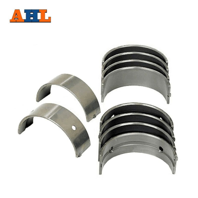 AHL 8pcs/set Motorcycle Engine Parts For Kawasaki ZZR600 QJ Benelli BJ 600 GS +50 Oversize Connecting Rod Crank shaft Bearing