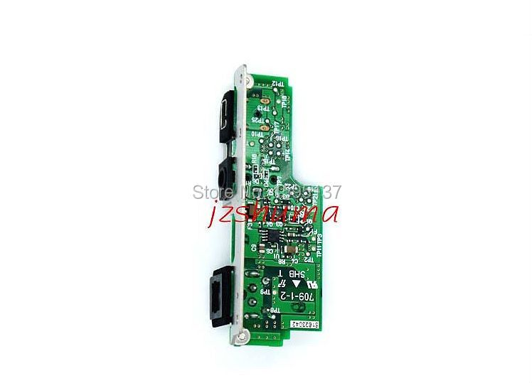 Original Interface board DC/IN HDMI AV/OUT GPS board PCB Unit for SLR for Nikon D90 Camera Repair parts