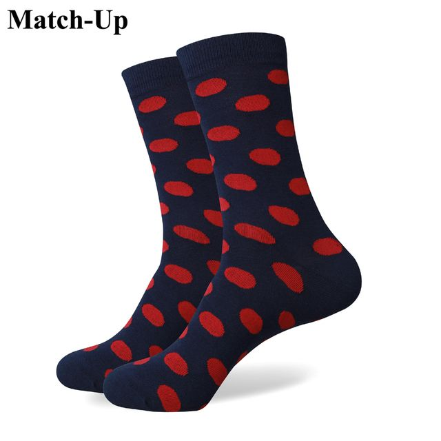 Match-Up Wholesale price Men's Colorful Cotton socks without LOGO offer customized label card  US size(7.5-12)