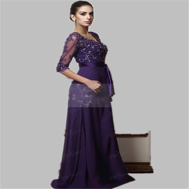 Mother of the Bride Dress  Lace Formal Gowns  chiffon pants suit wedding