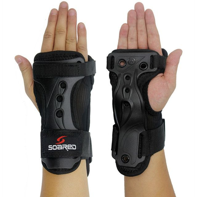 New Breathable Roller Skating Extreme sport Armfuls Wrist Support Skiing Wrist Palm Protection Snowboarding Hand Protector Guard