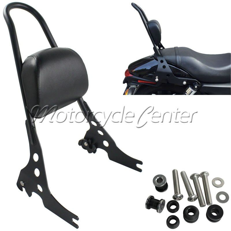 Motorcycle Sissy Bar Luggage Rack Detachable Rear seat Passenger Backrest Pad For 2015-2016 Harley Street 750 500 XG 15 16