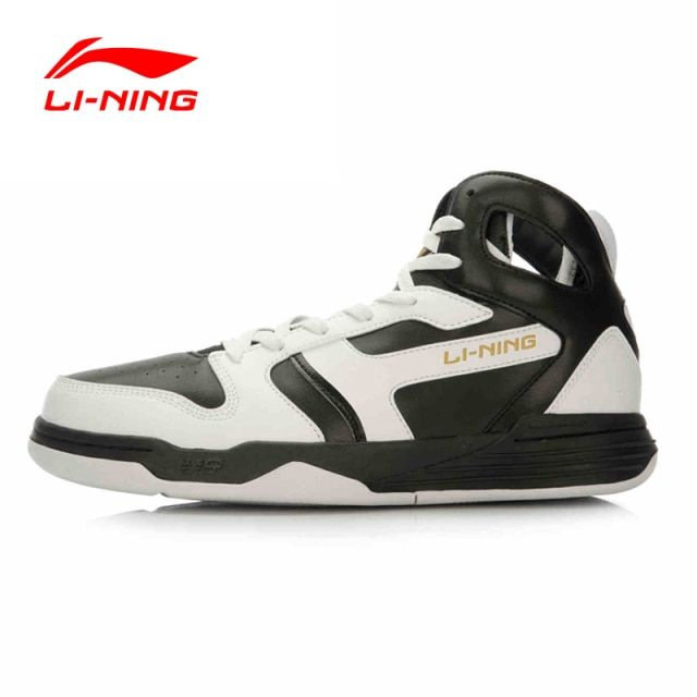 Li-Ning Men's Basketball Shoes Support Stability Sneakers Ankle Cut-outs Vintage LiNing Sports Shoes ABPL021 XYL091