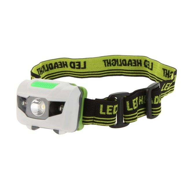 Hight Quality 3 Modes 2LED Red 3W Mini White Hiking Camping LED Headlight Flashlight Night Fishing Riding Cycling Head Lamp