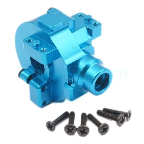 Aluminium Gear Box Upgrade Parts 122075 Blue For 1/10 RC Car HSP Redcat Himoto
