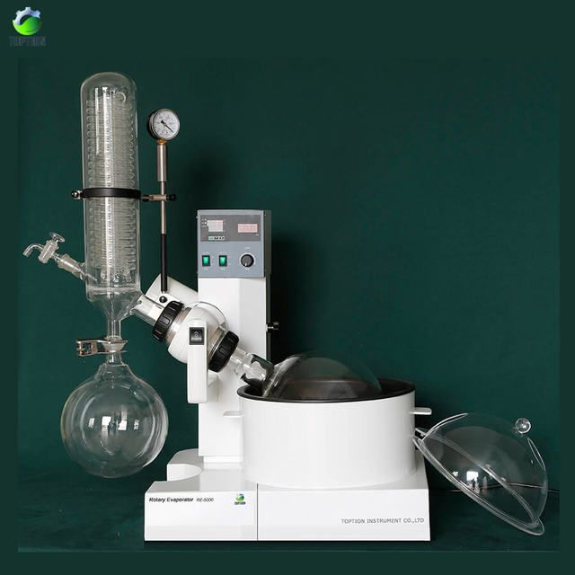 5L Rotary Evaporator/ Rotovap For Efficient And Gentle Removal Of Solvents From Samples By Evaporation, Lab Supplies Rotavapor