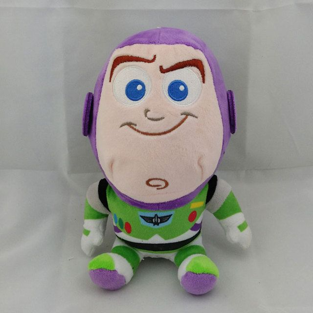 "Juguetes figma Toy Story 3 Brinquedo 20cm 8"" Buzz Woody Jessie Little Green Alien Figure Soft Plush Doll kids Toys For girls"