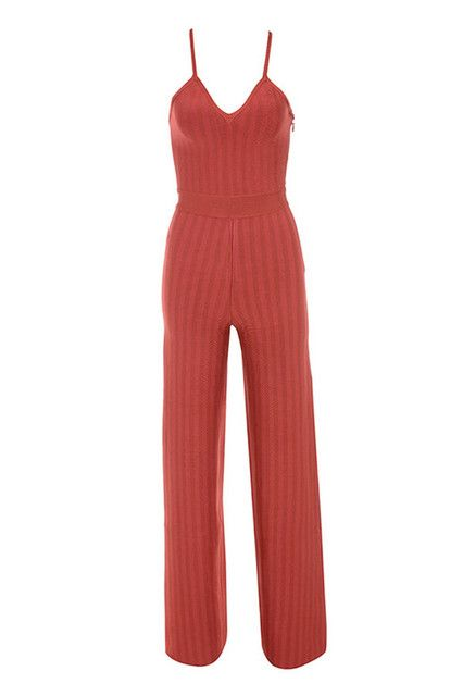Bandage Jumpsuits For Women 2016 Rompers Bandage Jumpsuit Bodycon Overalls Womens Red Jumpsuit Long Deep V Neck Backless HL
