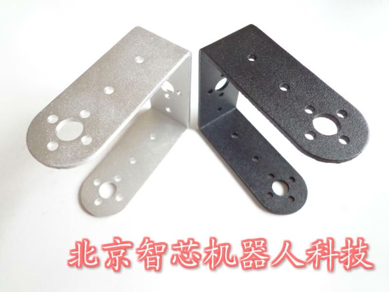 F07547 Standard Long U shaped Servo Bracket Pan-Tilt PTZ Bracket Robot Manipulator Robots Car Accessories