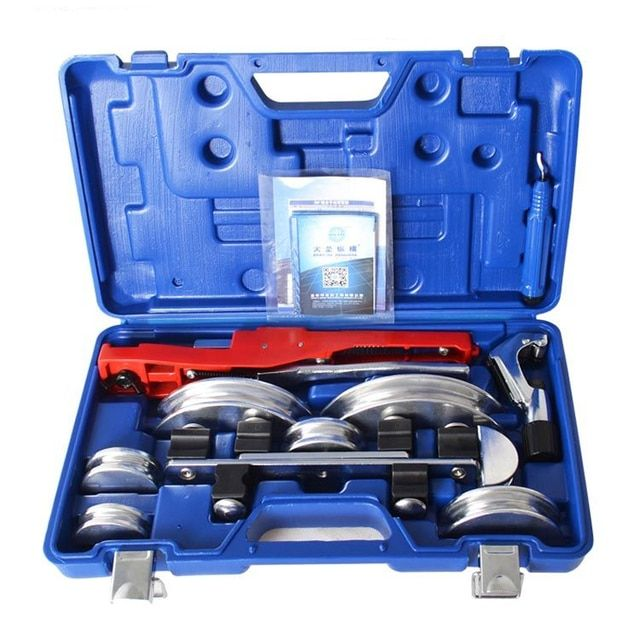 air condition pipe bend tools copper tube bending tool sets 6-22mm aluminium tube copper pipe bender CT-999F