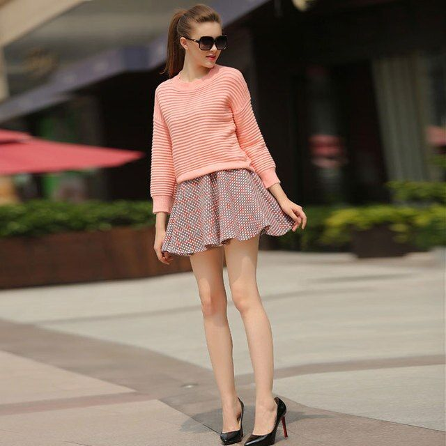 New fall/winter to 2016 Europe and high-end new super soft sweater wool skirt two piece women sets wholesale