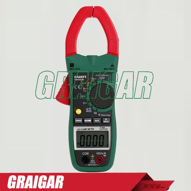 MS2026R 3-Phase Power multimeter digital clamp meter