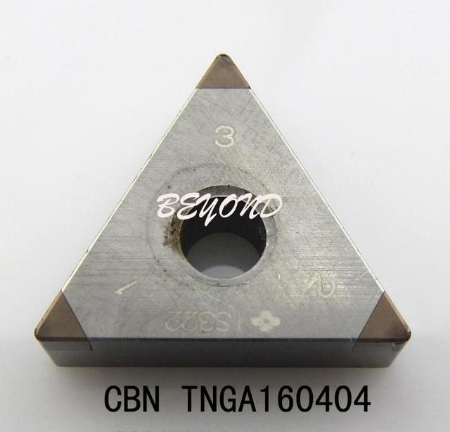 Boron nitride TNGA160404 blade for cutting high hardness materials ,CBN,boring bar,cnc,machine,Factory Outlet