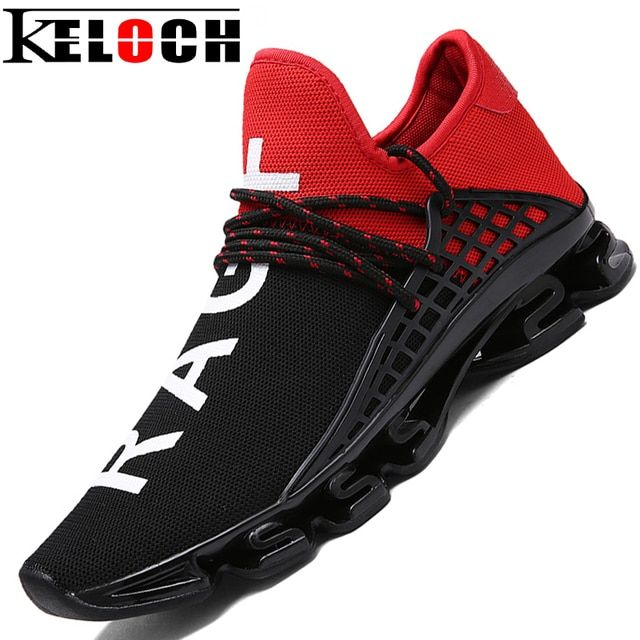 Keloch Running Shoes For Men Unisex Trend Run Athletic Trainers Black Zapatillas Sports Men Shoes Women Outdoor Walking Sneakers