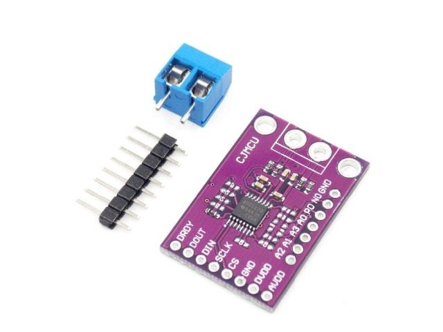 K CJMCU-1120 type thermocouple module ADS1120 high precision 16 bit analog to digital converter ADC