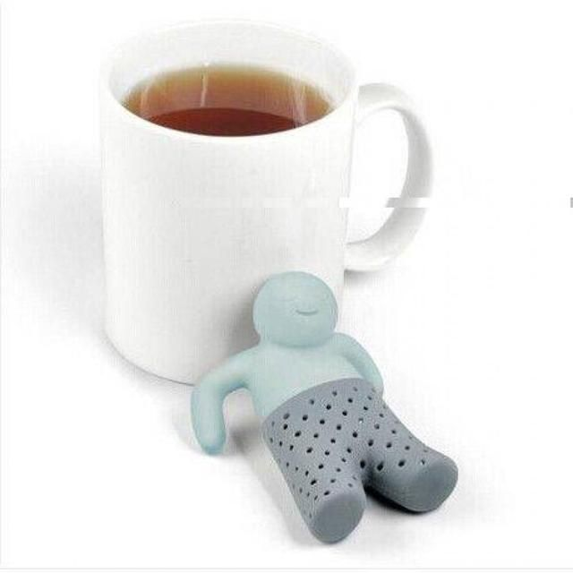 Unique Cute Tea Strainer, Silicone Tea Infuser Filter Teapot Teabags for Tea & Coffee Drinkware Free Shipping
