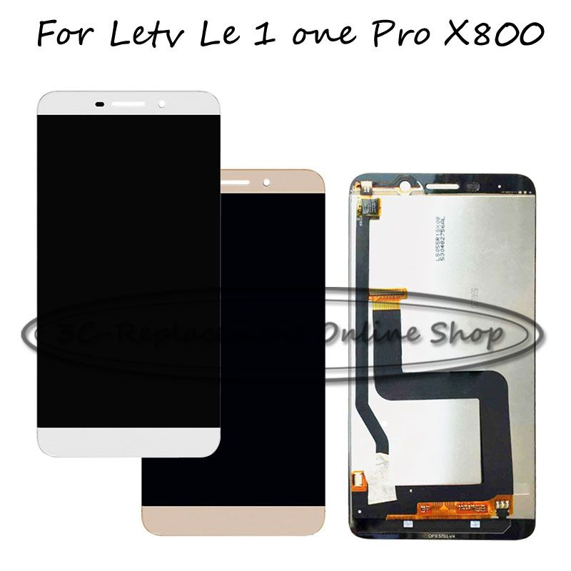 100% Tested 5.5 inch Replace New For LeTV Le 1 Le1 one pro X800 LCD Touch Screen Digitizer + LCD Display Assembly Repair parts